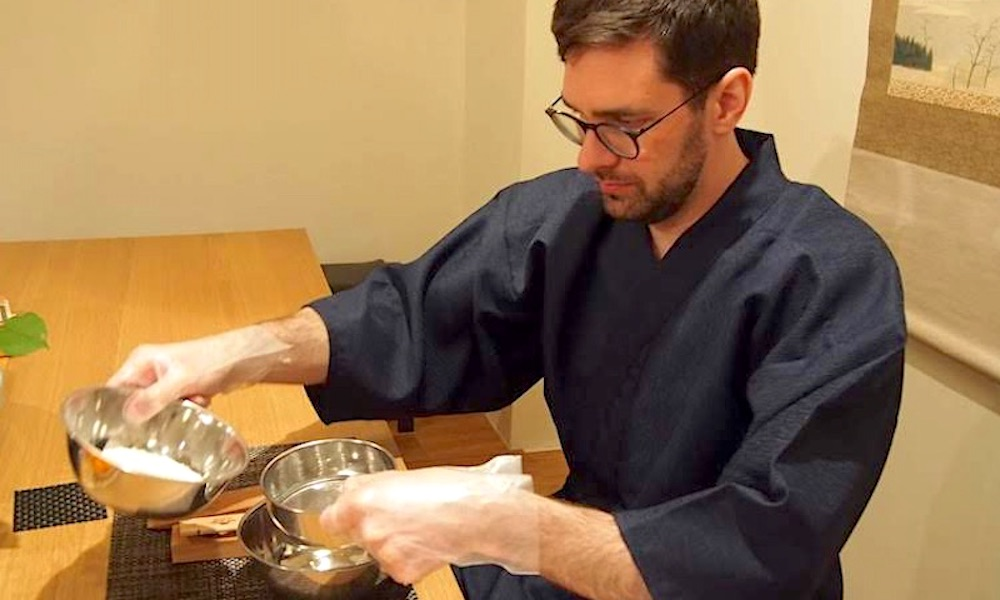 Wasanbon Sweets Making and Tea Ceremony Experience
